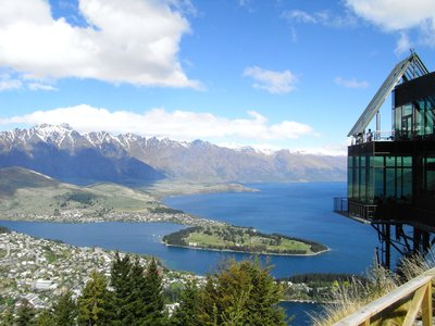View of Queenstown from Bob's Peak