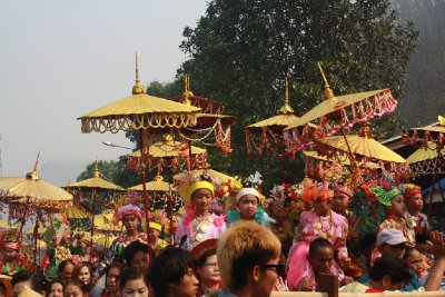 Poy Sang Long Festival, Mae Hong Son
