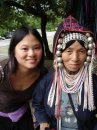 Me and Akha Hilltribe Woman