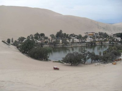 Huacachina near Ica