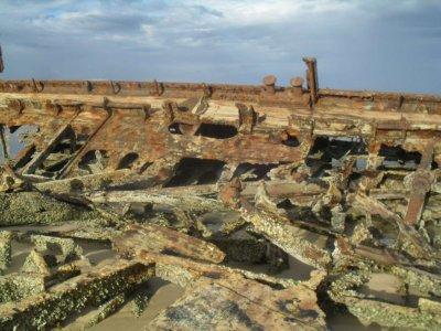 Maheno Ship Wreck 12