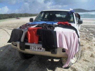 4x4 Washing Line
