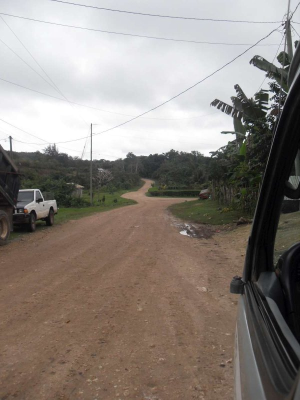 En route to San Ignacio