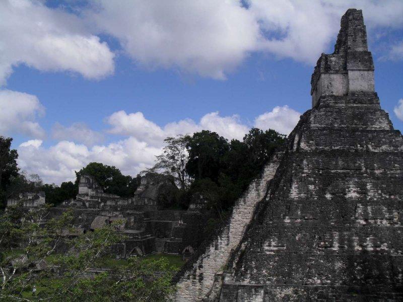 Tikal temple fest