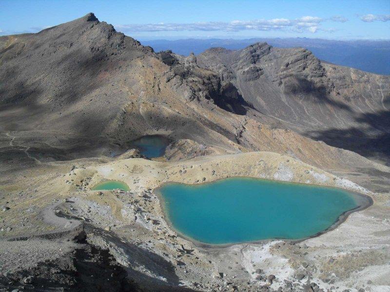 Sulphur lakes