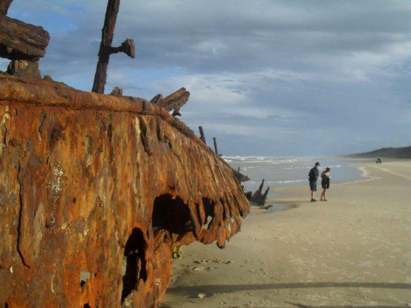 Maheno Ship Wreck 25