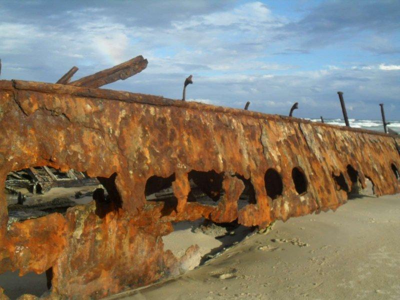 Maheno Ship Wreck 21