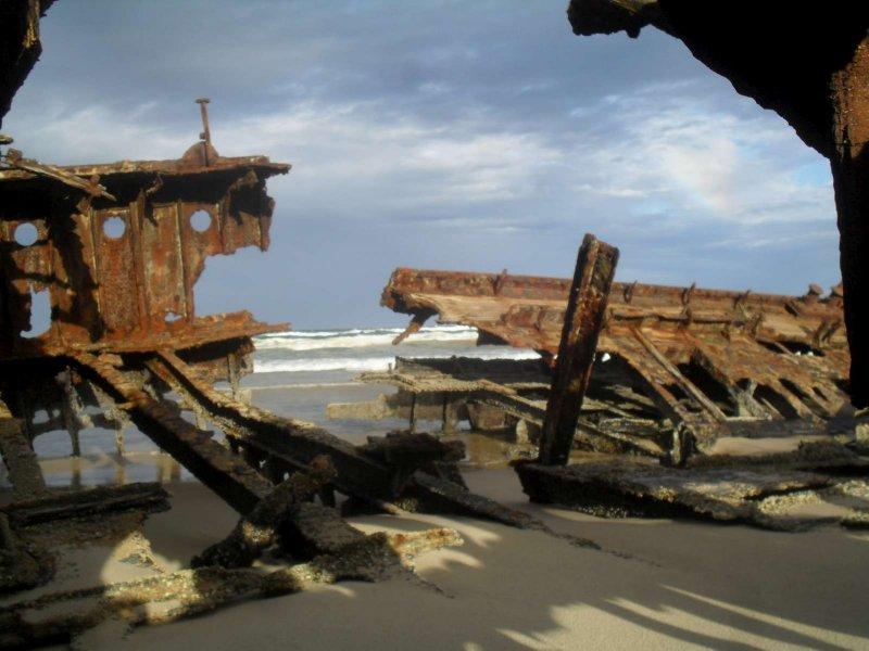Maheno Ship Wreck 17