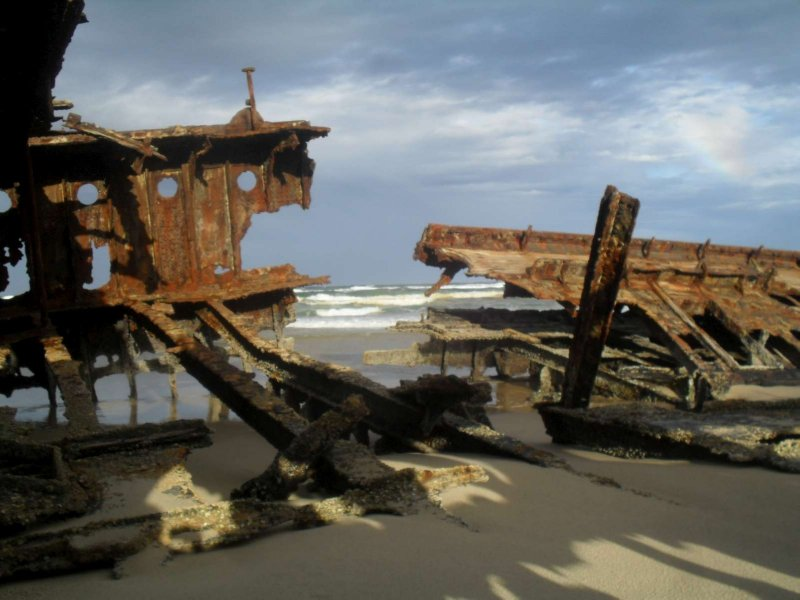 Maheno Ship Wreck 16