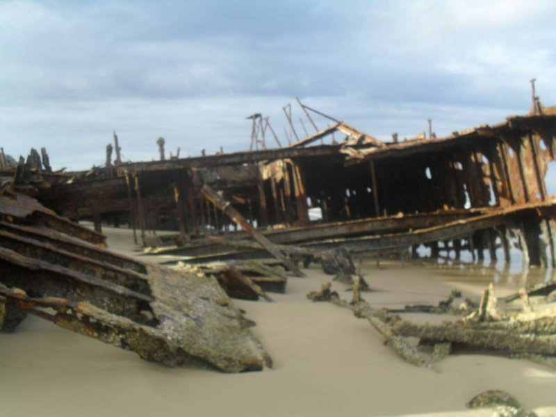 Maheno Ship Wreck 13
