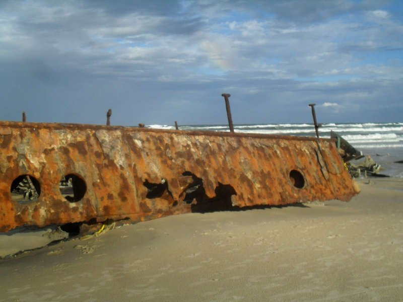 Maheno Ship Wreck 5