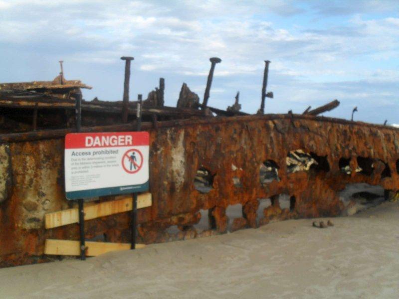 Maheno Ship Wreck