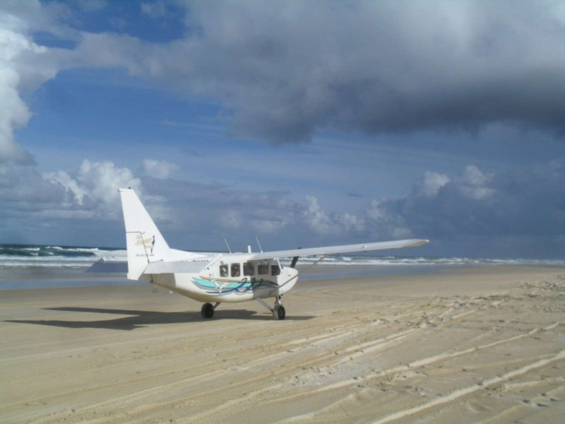Fraser Island Beach runway