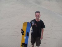Me and sandboard 2