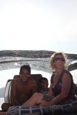 Boat Trip near Sihanoukville