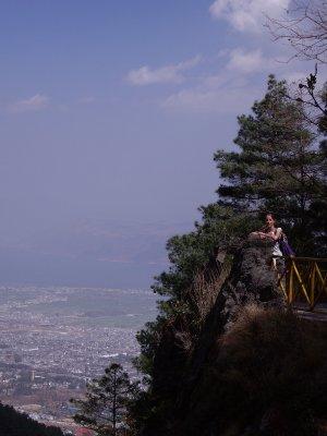 Dani on the mountain