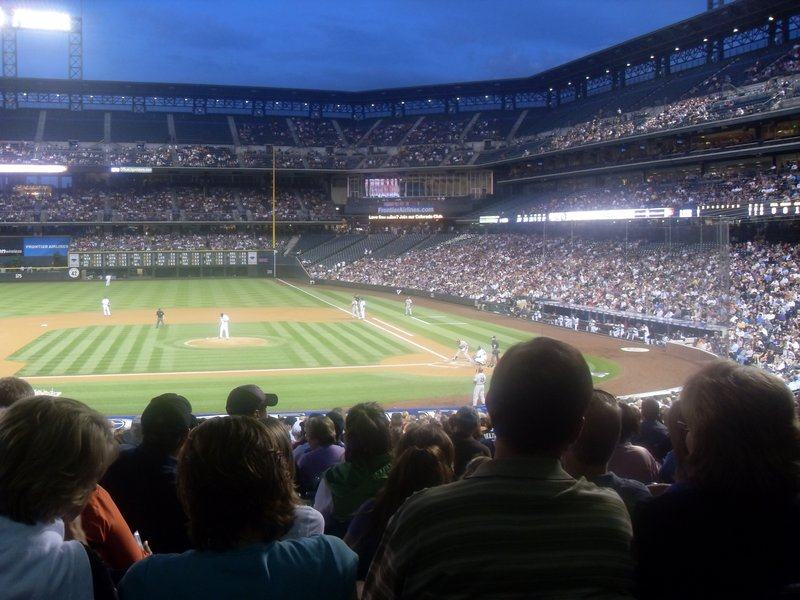 Rockies - DiamondBacks Game