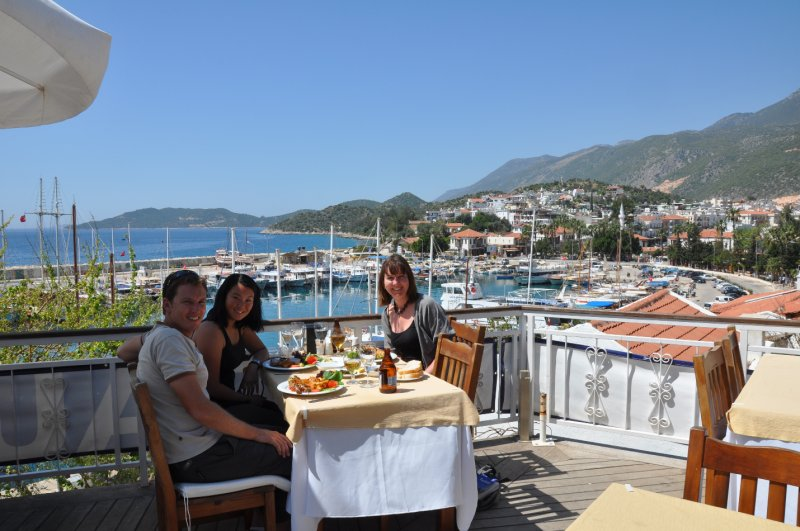 Lunch in Kas