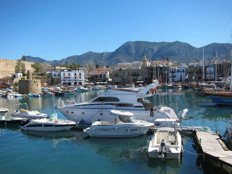 Kyrenia's harbour