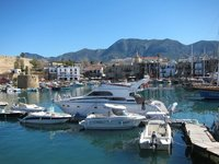 Kyrenia's harbour