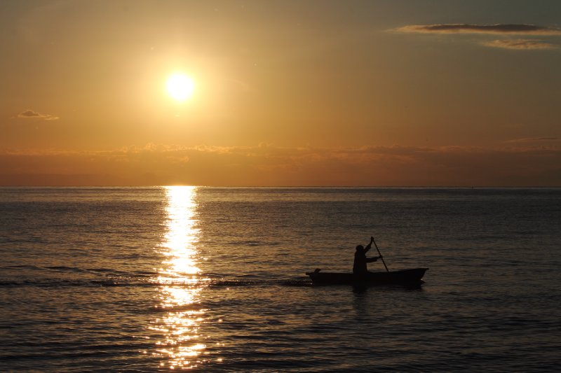 Sunrise over Lake Malawi