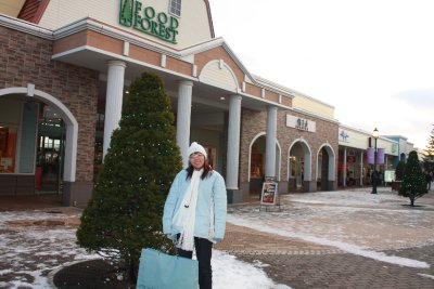 A shot in Chitose Outlet Mall Rera