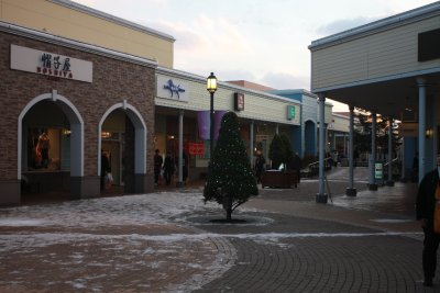 Shots taken from Chitose Outlet Mall Rera