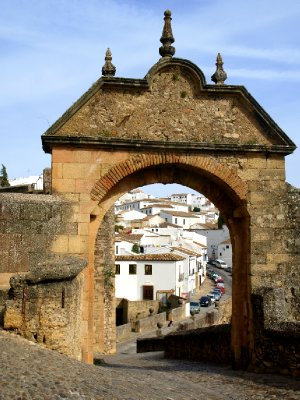 Ronda through the Phillipe V gate