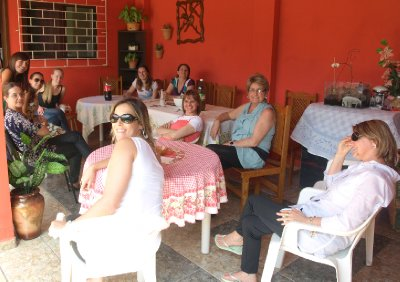 Flavia and some of her aunts and cousins