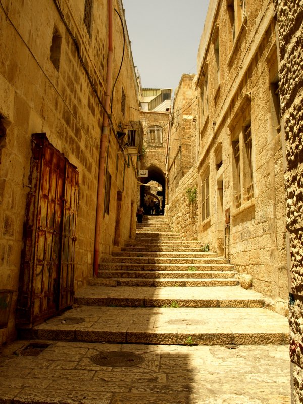 Staircases in the Old City