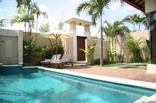 Private swimmpool villa Bali