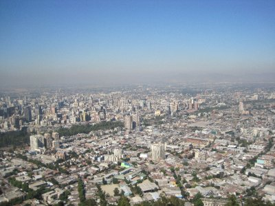 Santiago Skyline