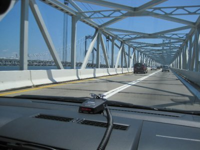 The Interstate 50 Bridge over Maryland's Chesapeake Bay
