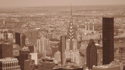 Easily the Coolest Building in NY - The Chrysler Building