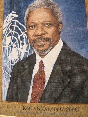 Former UN Secretary General, Kofi Annan
