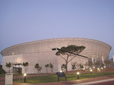 Green Point Stadium - one of the venues for the 2010 World Cup
