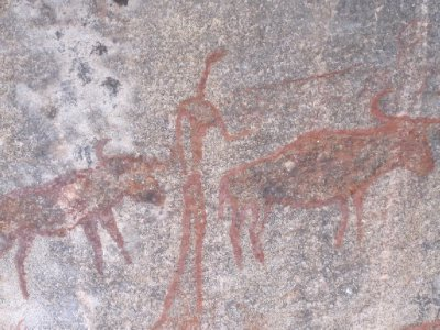 Nsangwini rock paintings