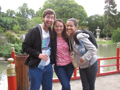 Alexia, Candia, and Me at the Japanese Garden