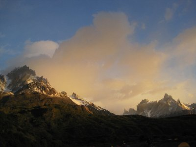 Sunrise over Punta Bariloche