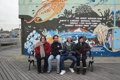 A cold day at Coney Island