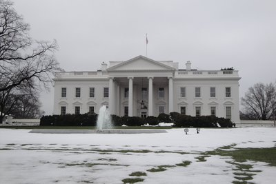 What's whiter than the Whitehouse?