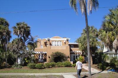 Alec's Mums house