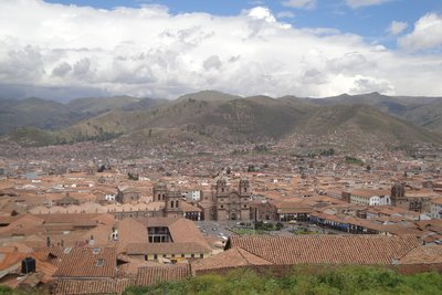 One view over Cusco