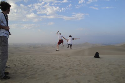 Run and Jump in the desert 2