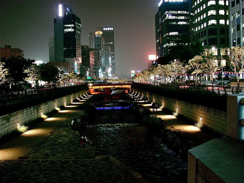 Nightlife in Seoul, Korea