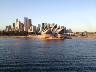 Arriving in Sydney  2012