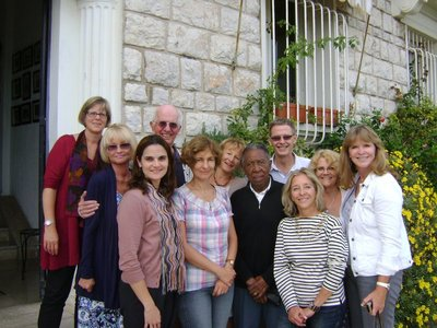 Classmates, Villefranche, October, 2011
