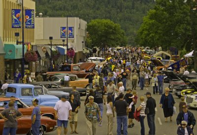 Downtown, Quesnel, 2010
