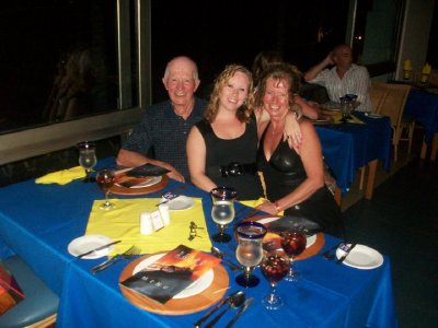 Great dinner in the Steak House, 2010