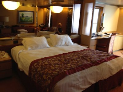Our cabin MV Oosterdam 2012